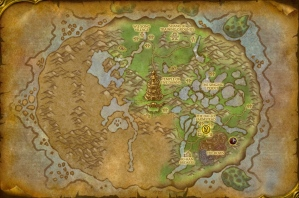 Pandaren starting area