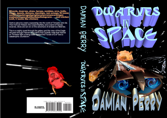 Dwarves in Space paperback cover