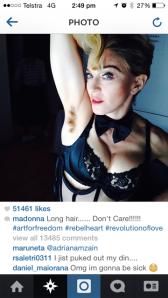 Madonna's armpit