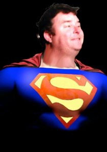 me as superman