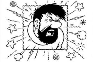 Captain Haddock swearing