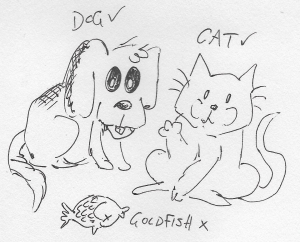 cats and dogs are cool